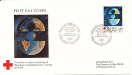 Finland FDC RED CROSS World Peaceconference Helsinki 28-5-1984 - Red Cross