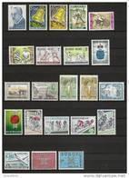 Jaar 1963 Compleet ** Postfris 38 Waarden (zonder Blok) - Belgique