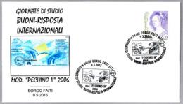 CUPON-RESPUESTA INTERN. - Int. Reply-coupon - Coupon-reponse Int. Borgo Faiti 2015 - Correo Postal