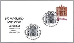 500 ANIV. UNIVERSIDAD DE SEVILLA - 500 ANNIV. UNIVERSITY OF SEVILLE. 2005. Andalucia - Otros