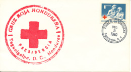 Honduras FDC RED CROSS 3-12-1980 With Cachet - Red Cross