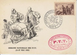 Semaine National Des PTT Mai 1945 - Poste