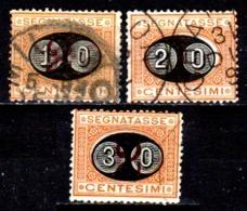 Italia-A-0612: SEGNATASSE 1890-91 (o) Used - Senza Difetti Occulti. - 1878-00 Humbert I.