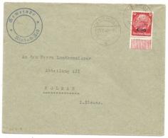 SK219 - JUNGHOLZ - 1940 - Entête MAIRIE - Sur Hindenburg Surchargé Elsass - - Elsass-Lothringen