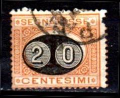 Italia-A-0613: SEGNATASSE 1890-91 (o) Used - Difetto. - 1878-00 Humbert I.