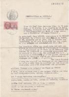 Constat Des Dégats Des Bombardements à L'usine Ancel à Fresse , Vosges ,1945 , 2 Scans - Documents