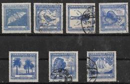 1948 Chile Flora Y Fauna Murcielago-insecto-aves-nutria-flores-plantas 7v. - Other