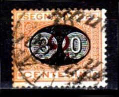Italia-A-0615: SEGNATASSE 1890-91 (o) Used - Senza Difetti Occulti. - 1878-00 Humbert I.