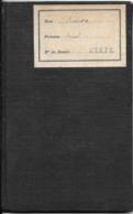 LIVRET UNIVERSITAIRE INDIVIDUEL-Mdle137-1929-FACULTE De DROIT De PARIS-FT11x17Cm-TBE-RARE - Diplômes & Bulletins Scolaires