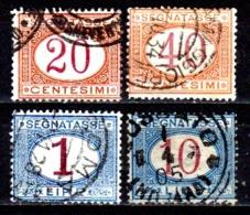 Italia-A-0617: SEGNATASSE 1890-94 (o) Used - Senza Difetti Occulti. - 1878-00 Humbert I.