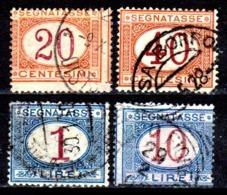 Italia-A-0618: SEGNATASSE 1890-94 (o) Used - Senza Difetti Occulti. - 1878-00 Humbert I.