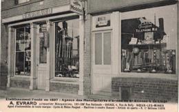CP NOEUX LES MINES - A. EVRARD -Agence Des Manufactures D'armes De St-Etienne & De Liège - Noeux Les Mines