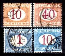 Italia-A-0619: SEGNATASSE 1890-94 (o) Used - Senza Difetti Occulti. - 1878-00 Humbert I.