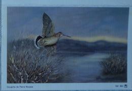 Petit Calendrier De Poche 1990 Oiseau Bécasse - Gouache Roussia - Buzançais - Formato Piccolo : 1981-90