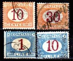 Italia-A-0620: SEGNATASSE 1890-94 (o) Used - Senza Difetti Occulti. - 1878-00 Humbert I.