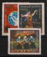 Laos - 1979 - N°Yv. 343 à 345 - Année De L'enfant - Neuf Luxe ** / MNH / Postfrisch - Laos