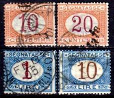 Italia-A-0621: SEGNATASSE 1890-94 (o) Used - Senza Difetti Occulti. - 1878-00 Humbert I.