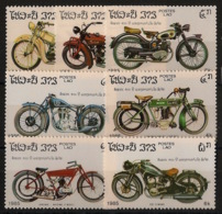 Laos - 1985 - N°Yv. 624 à 630 - Motocyclette - Neuf Luxe ** / MNH / Postfrisch - Laos