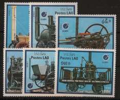 Laos - 1988 - N°Yv. 853 à 858 - Trains - Neuf Luxe ** / MNH / Postfrisch - Laos
