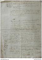 1785 DÉPARTEMENT DE LA VIENNE - ARRONDISSEMENT DE CIVRAY - COMMUNE DE SAVIGNÉ - ACTE DE MARIAGE - Documents Historiques
