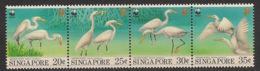 Singapore - 1993 - N°Yv. 684 à 687 - Faune / Aigrettes / WWF - Neuf Luxe ** / MNH / Postfrisch - Singapore (1959-...)