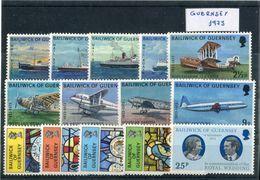 Guernsey 1973. Completo ** MNH. - Guernsey