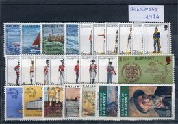Guernsey 1974. Completo ** MNH. - Guernsey