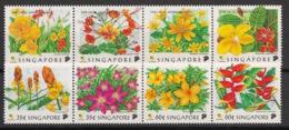Singapore - 1998 - N°Yv. 876 à 883 - Fleurs / Flowers - Neuf Luxe ** / MNH / Postfrisch - Singapore (1959-...)