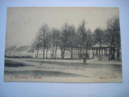 CPA - MEERHOUT ( BALEN MOL TURNHOUT ) - MARKT ( KIOSK KIOSQUE ) - 1908 - Meerhout