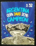 V) 2017 ARGENTINA, SPORT, COPA DAVIS CHAMPION, MNH - Argentina