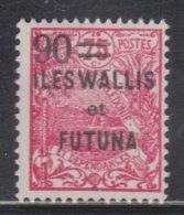 WALLIS & FUTUNA ISLANDS  Scott # 37 MH - Overprint & Surcharge - Wallis And Futuna