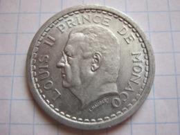 2 Francs 1943 - Mónaco
