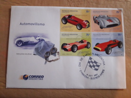 Argentine FDC Automobile - Automobilismo