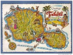 Carte Postale Tahiti  Département  Trés Beau Plan - Tahiti