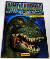 Libro, Book, Livre - Dinosaurios, Como Eran...como Vivían, Garras Terribles Y Tiranos - Forum Nº1, 1993 - Libros, Revistas, Cómics