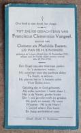 Franciscus Clementius Vangeel, Zoontje Van Clement En Mathilda Baeten - Larum-Gheel 10 December 1930 - 25 Mei 1932 - Décès