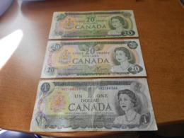 CANADA    41    DOLLARS          BILLETS   LOT - Canada