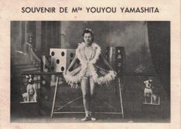 Carte Souvenir De Mlle YOUYOU YAMASHITA - Artistes