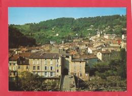 CPM -   Largentière -(Ardèche) - Cité Médiévale - Vue Générale Au 1er Plan , Porte Des Recollets - Largentiere