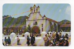 Mexique: Temple And Plaza In Chamula, State Of Chiapas (19-1779) - Mexique