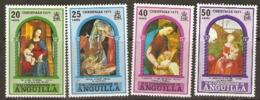 Anguilla  1971   SG  117-20  Christmas    Unmounted Mint - Anguilla (1968-...)