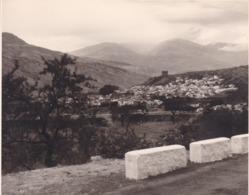 VELEZ De BENAUDALLA 1963 Photo Amateur Format Environ 7,5 Cm X 5,5 Cm Région GRENADE GRANADA - Lugares