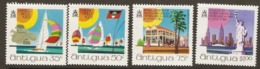 Antigua  1972   SG  345-8  Antiguan Tourist Office NewYork     Unmounted Mint - Antigua And Barbuda (1981-...)