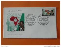FDC Senegal UIT Telephone - Sénégal (1960-...)