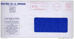 EMA Sur Lettre / Slogan Meter On Cover / Centre De Selection N°8 Lyon 69 Rhone - Militaria