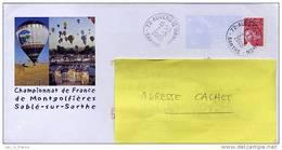 PAP Championnat Du Monde De Montgolfières Sablé 72 Sarthe - Luchtballons