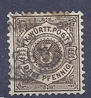 190032083  ALEMANIA  WURTEMBERG  YVERT   Nº   58 - Wurtemberg