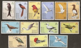 British Indian Ocean Territory   1975   SG  62-74  Birds  Unnmounted Mint - British Indian Ocean Territory (BIOT)