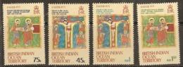 British Indian Ocean Territory   1973   SG  47-50  Easter   Unnmounted Mint - British Indian Ocean Territory (BIOT)