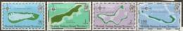 British Indian Ocean Territory   1975   SG 81-4  Maps     Unnmounted Mint - British Indian Ocean Territory (BIOT)
